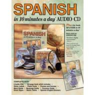 Spanish in 10 minutes a day - AUDIO CD
