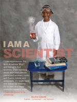I am a Scientist (Laminated)