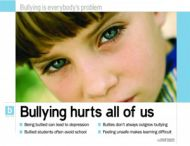 Bullying Hurts (Laminated)